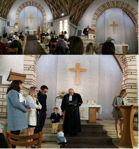 Baptême d'Octave
